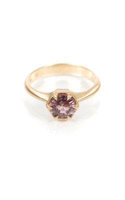 Elizabeth Street Fashion Ring PLUM SOLITAIRE product image