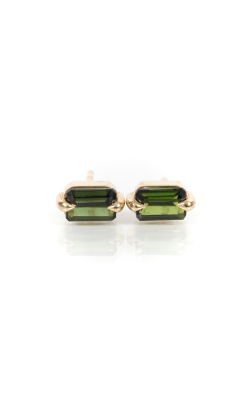 Elizabeth Street Earrings ESE24-DARK GREEN product image