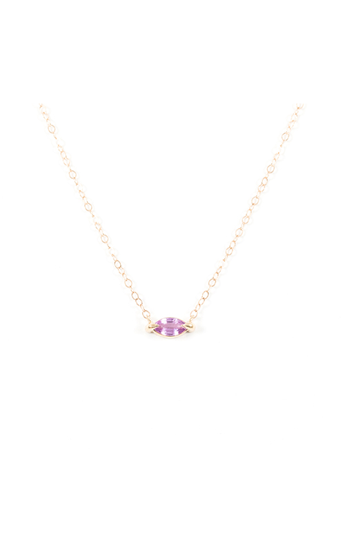 Elizabeth Street Necklace ESN30-PINK-PURPLE product image