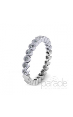 Parade Designs Diamond Wedding Bands  -  Women's BD0787B-D:1/2-WG product image