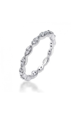 Parade Designs Diamond Wedding Bands  -  Women's BD3946A-D:1/2 product image