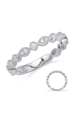 OPJ Signature Diamond Wedding Bands  -  Women's EN8097-BWG product image