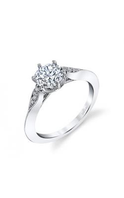 Parade Designs Diamond Semi-Mount Rings R3976/R1 product image