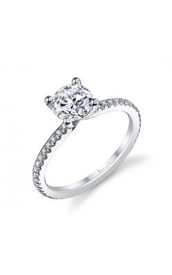 Sylvie/Spectrum Diamonds Diamond Semi-Mount Rings S1093-021A4W10 product image