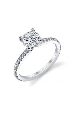 Sylvie/Spectrum Diamonds Diamond Semi-Mount Rings S1093-021A4W10R product image
