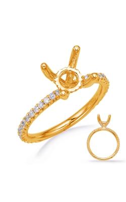 OPJ Signature Diamond Semi-Mount Rings EN8250-1YG product image