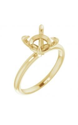 Oak Park Jewelers Custom Plain Solitaire Semi-Mounts Women's SOL-14Y-RD-2.50 product image