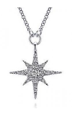 Gabriel & Co. Diamond Pendants NK4847W45JJ product image