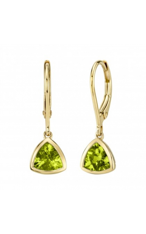 Stanton Color Colored Stone Earrings 34050-LEPE/14k product image