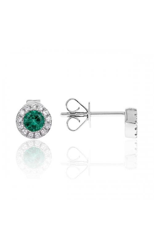 Luvente Colored Stone Earrings E03128-EM.W product image
