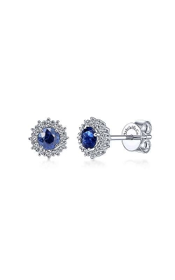 Gabriel & Co. Colored Stone Earrings EG11819W45SA product image