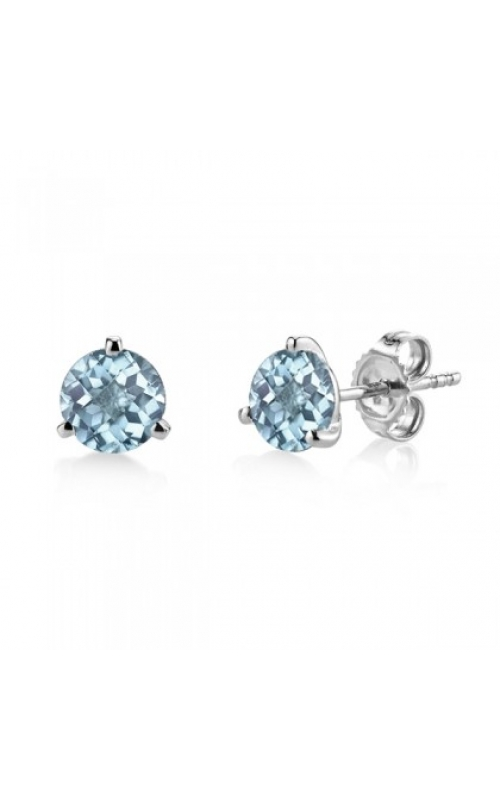 Stanton Color Colored Stone Earrings 29561-EAQ-14K product image