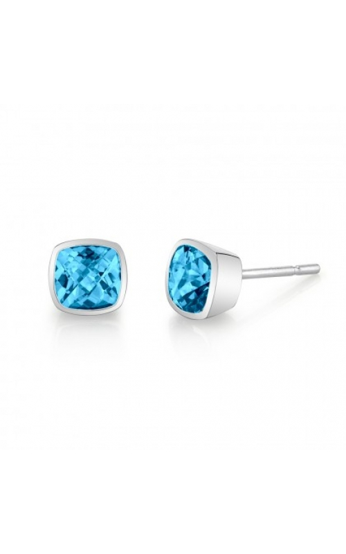 Stanton Color Colored Stone Earrings 32011-3-EBT/14K product image