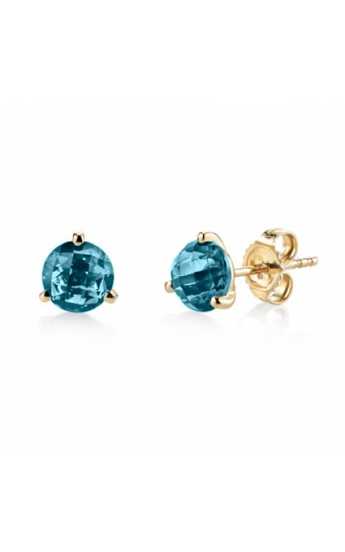 Stanton Color Colored Stone Earrings 29560-ELB-14K product image