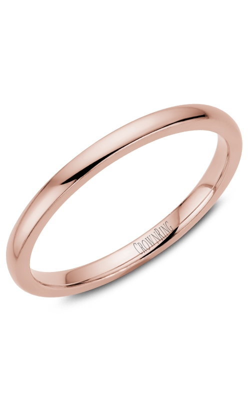 Crown Ring/Noam Carver Precious Metal (No Stones) Wedding Bands  -  Men's TDL14R2 product image