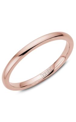 Crown Ring/Noam Carver Precious Metal (No Stones) Wedding Bands  -  Men's TDL14R2 product image