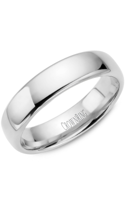 Crown Ring/Noam Carver Precious Metal (No Stones) Wedding Bands  -  Men's TDS14W55 product image