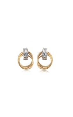 Carla/Nancy B Precious Metal (No Stones) Earrings 03/169YW product image