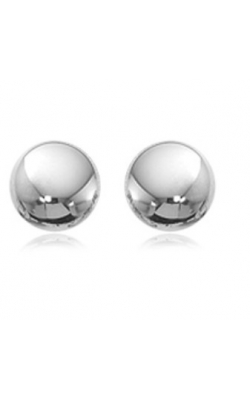 Carla/Nancy B Precious Metal (No Stones) Earrings 1341WG product image