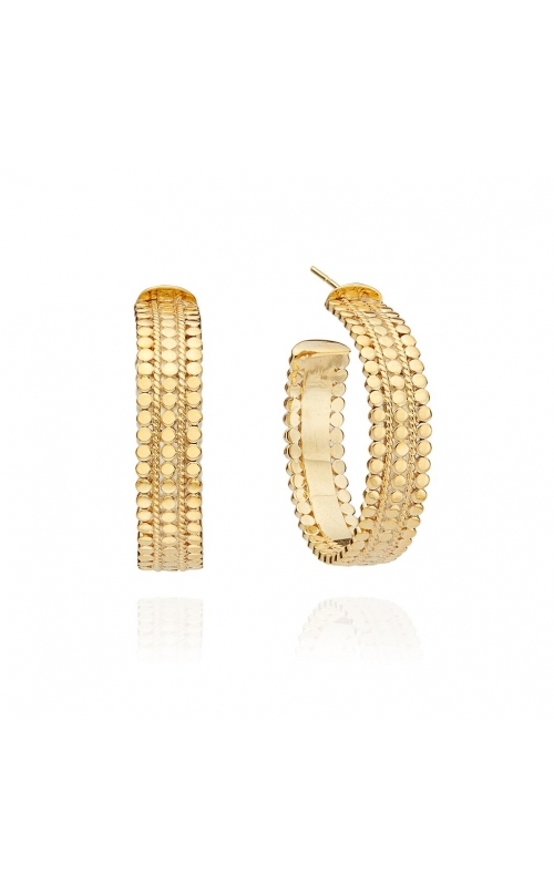 Silver Earrings ER10091-GLD product image