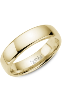 Crown Ring/Noam Carver Precious Metal (No Stones) Wedding Bands  -  Men's TDS14Y6 product image