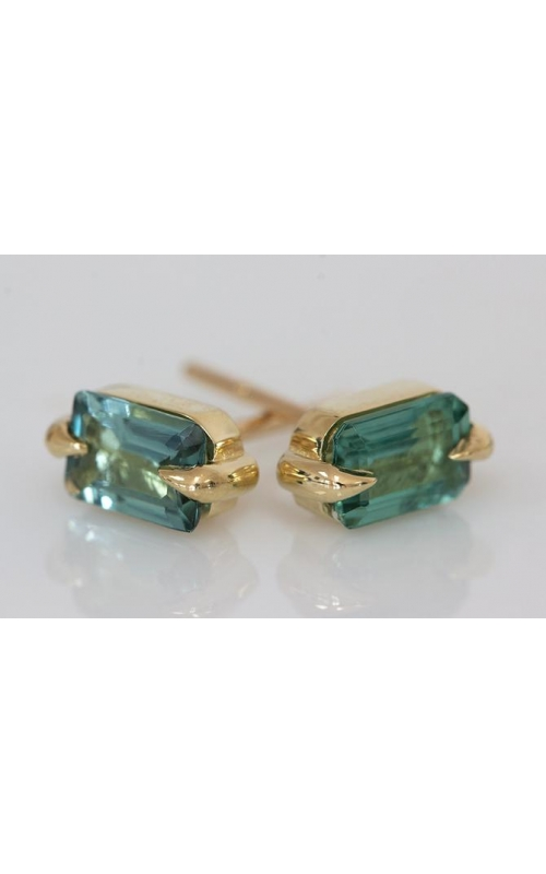 Elizabeth Street Colored Stone Earrings ESE24-LIGHT GREEN product image