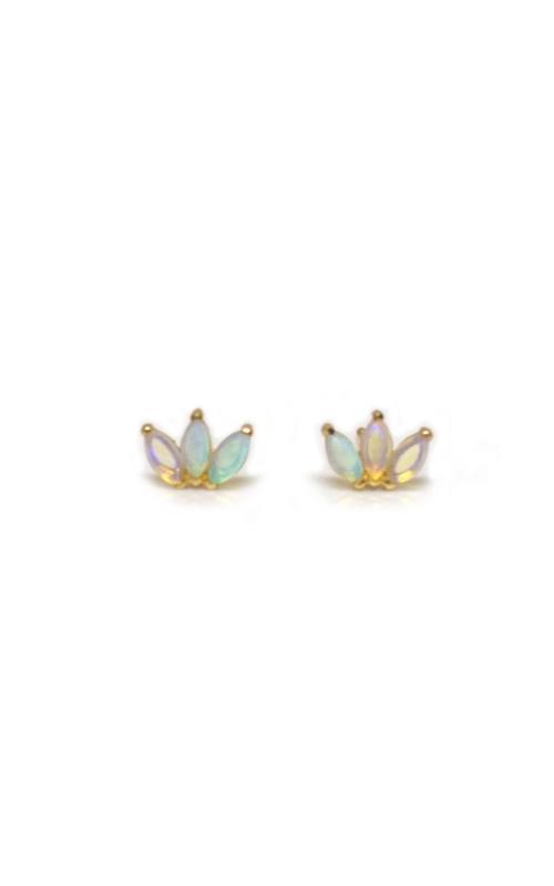 LA Kaiser Colored Stone Earrings FE-2005 product image