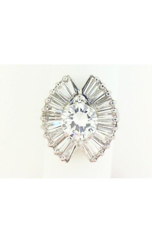Oak Park Jewelers Custom Diamond Fashion Rings - Women's ESTATE-RND-BAG-RING product image