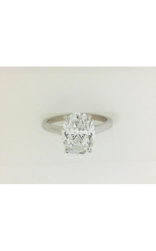 Oak Park Jewelers Custom Plain Solitaire Semi-Mounts Women's SOL-14W-HH-OV-1.18 product image