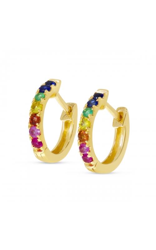 Brevani Colored Stone Earrings E4238 product image