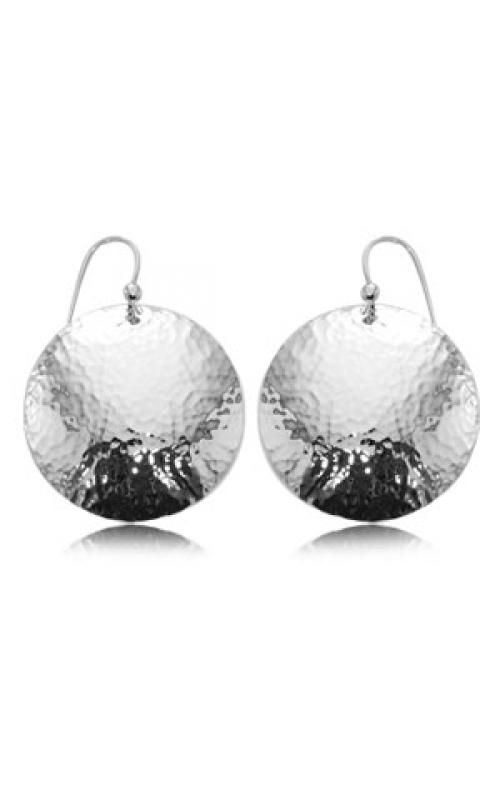 Carla/Nancy B Silver Earrings 13957HAM-SS product image