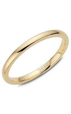 Crown Ring/Noam Carver Precious Metal (No Stones) Wedding Bands  -  Men's TDL14Y2 product image