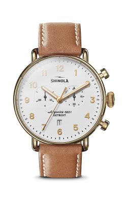 Shinola Canfield Chrono Watch S0120044134 product image
